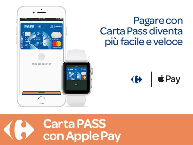 carrefour-apple-pay Carta Pass Carrefour: recensione, opinioni e costi